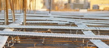 کابل های پیش تنیده قبل از بتن ریزی