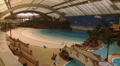 پارک آبی با اسکلت سازه فضاکار