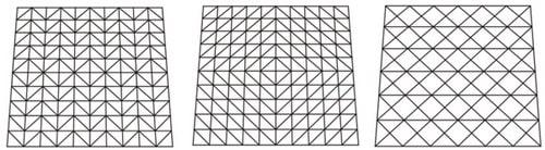 سازه فضاکار شبکه ای یک لایه