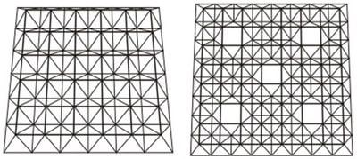 انواع سازه فضایی