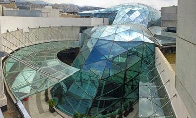 شکل و ساختار زیبای سازه فضا کار