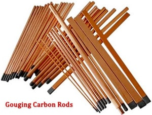 الکترودهای کربنی تخت یکی از تجهیزات جوشکاری CAW