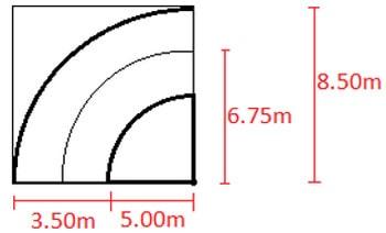 محاسبه طول رمپ چرخشی پارکینگ