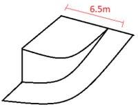 مثال محاسبه طول رمپ