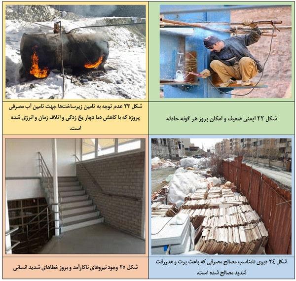 لزوم تامین شرایط ایمنی در ساخت سازه