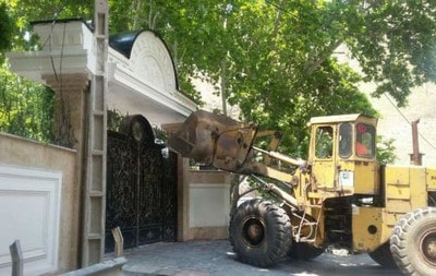 تخریب ساختمان غیرمجاز