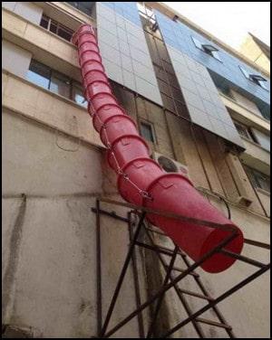 ایمنی در تخریب ساختمان