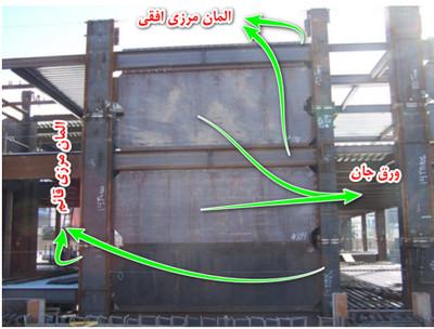 جزئیات دیوار برشی فولادی