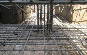 خم ریشه ستون در فونداسیون