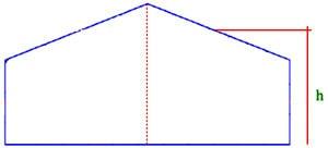 محاسبه ضریب بادگیری در بارگذاری سوله
