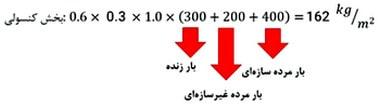 محاسبه دستی نیروی زلزله