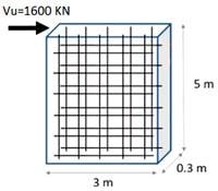 مثال از طراحی دیوار برشی