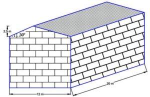 مثال از محاسبه بار برف سوله