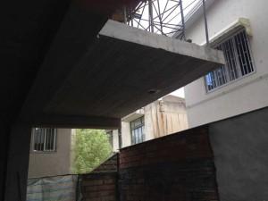نمونه اجرا شده سقف یوبوت در سازه بتنی