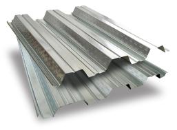 ورق فولادی در سقف عرشه فولادی