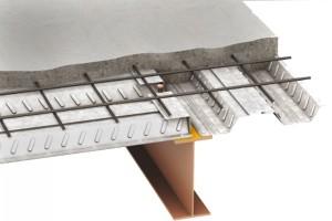 اور لب در ورق های سقف عرشه فولادی